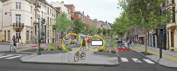 Faux idéalisation projet boulevard Clovis